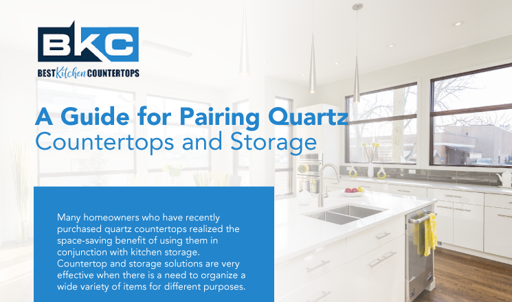 A Guide for Pairing Quartz Countertops and Storage